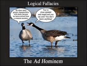 Ad Hominem Meme - ad hominem argument abagond