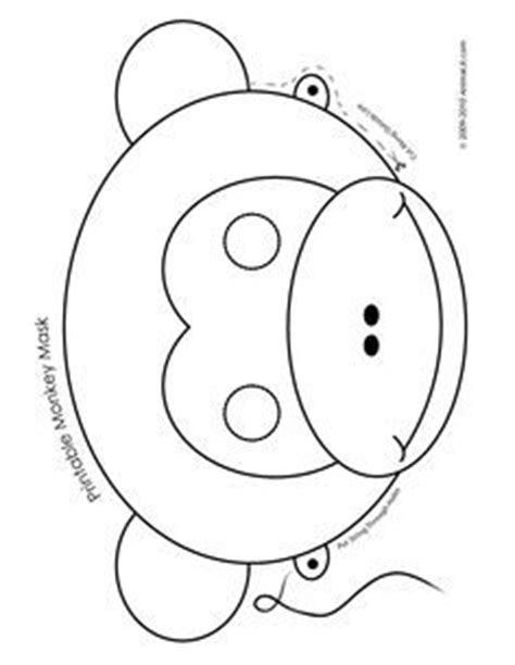 printable animal masks kindergarten printable animal masks pig mask printable pig mask