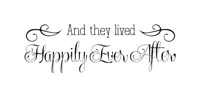 Design Your Own Wall Sticker and they lived happily ever after wall decal family wall
