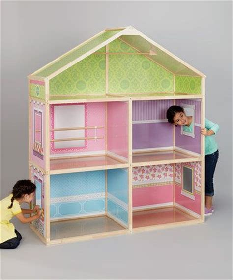 cool doll houses wicked cool toys dollie me 18 exclusive wood dollhouse