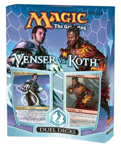 magic the gathering buy decks magic the gathering mtg duel decks venser vs koth two