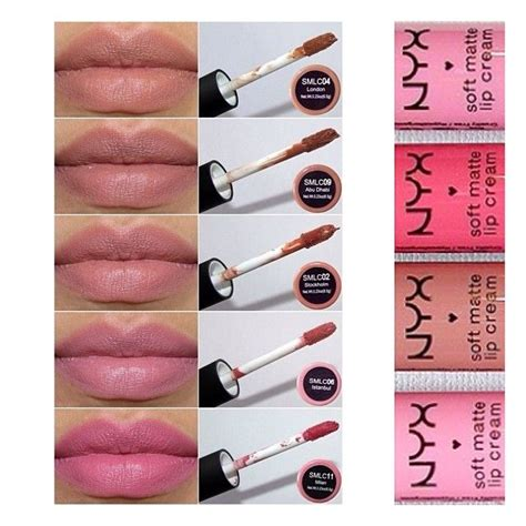 nyx matte lip gloss swatches nyx soft matte lip it s not lipstick nor lip gloss