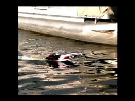 rc boats catching fish luckystrike rc fishing boat catching bluegills youtube