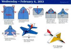 how to make a paper calendar paper airplane calendar origami paper toys