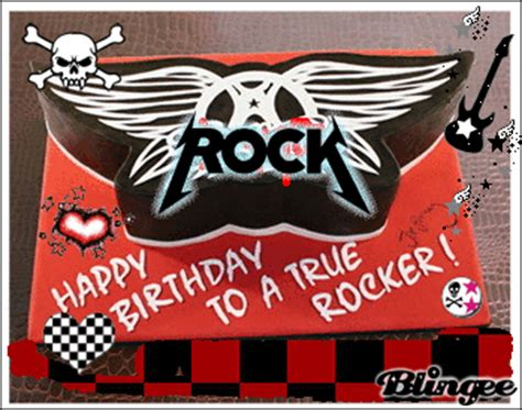 imagenes rockeras de happy birthday cumplea 241 os rockero fotograf 237 a 69027950 blingee com