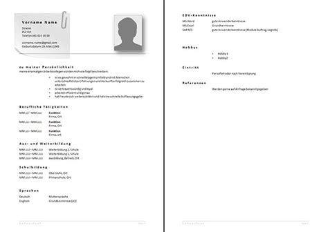 Lebenslauf Schweiz Referenzen Bewerbungsunterlagen Rav Ow Nw