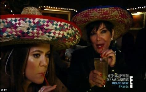 Mother Daughter House Plans Khloe And Mom Kris Jenner Pull A Drunken Prank On Kim On