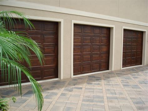 Faux Wood Garage Doors Faux Wood Garage Doors For The Home