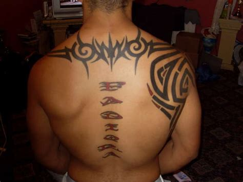 tribal back piece tattoos tribal back related keywords tribal back