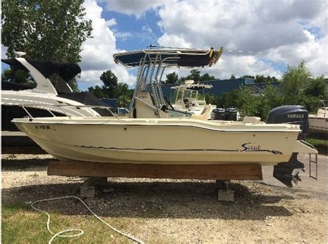 scout boats for sale south carolina scout 202 sportfish boats for sale in south carolina