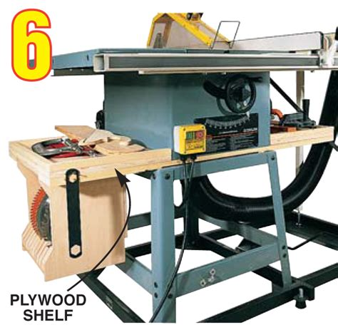table saw leveling soup up your shop popular woodworking magazine