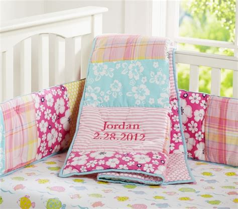 Hibiscus Crib Bedding Lahaina Baby Bedding Set Pottery Barn
