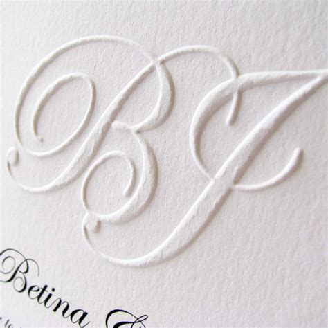 Raised Letter Wedding Invitation Wedding Summer Series Your Invitations Bringing Events Weddings To