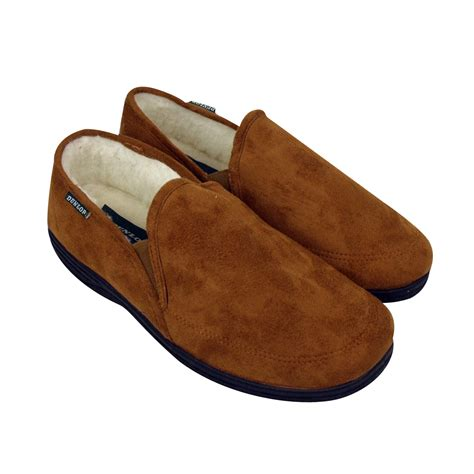 slippers size 6 boys dunlop classic luxury gusset slipper gents