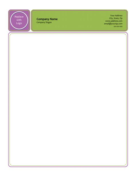 50 Free Letterhead Templates Formats For Word Elegant Designs Letterhead Template Word