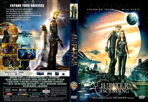 film gratis jupiter jupiter ascending dvd cover label 2015 r2 custom art