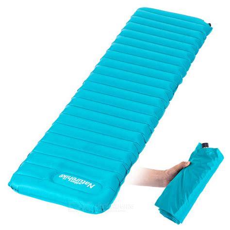 Naturehike Kasur Matras Angin Press Outdoor Mattress Naturehike Cing D Proof Air Sleeping Pad Mat Blue Free Shipping Dealextreme