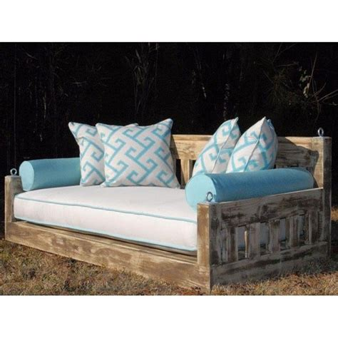 porch swing bed mattress 20 best images about outdoor daybed swing on pinterest