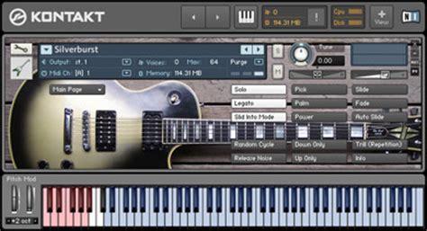 Sound Library Kontakt lyrical distortion silverburst direct sound library for ni kontakt