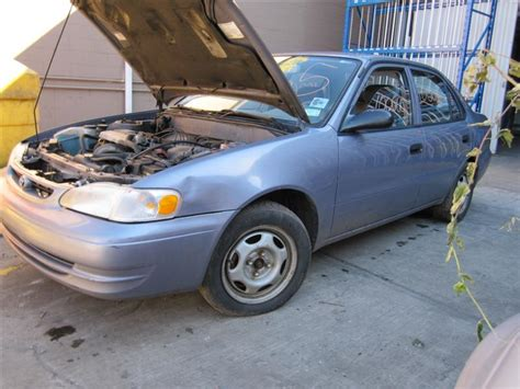 Toyota Corolla 1998 Parts Parting Out 1998 Toyota Corolla Stock 100665 Tom S