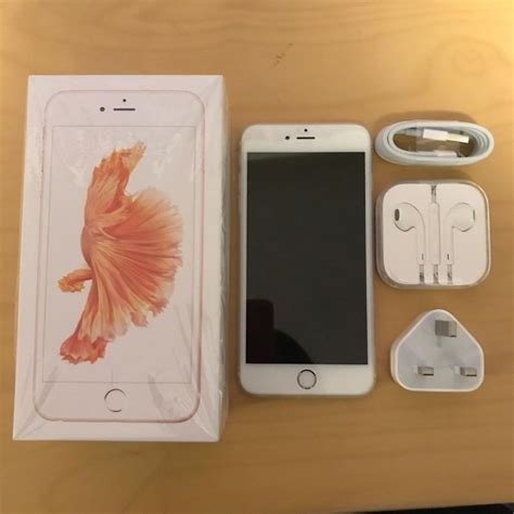Iphone 6s 64gb Rosegold like new iphone 6s plus gold 64gb unlocked in bath