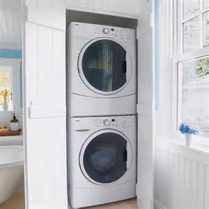ways to hide a washer and dryer