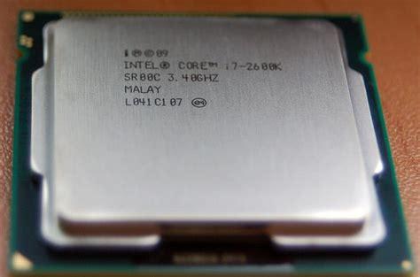 Intel I7 2600k Sockel by Modsynergy Review 241 Intel I7 2600k 3 40ghz Processor W Turbo Boost Technology