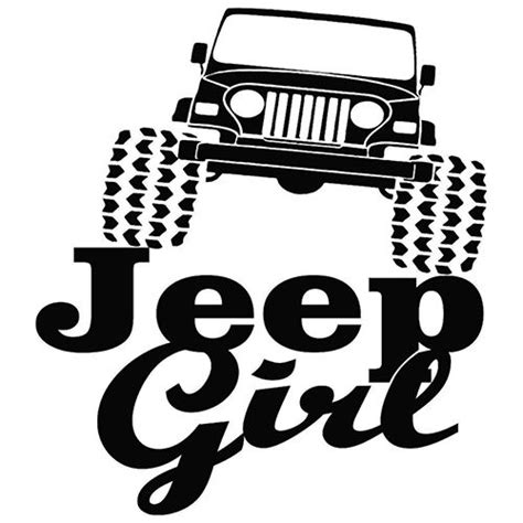 jeep silhouette jeep die cut vinyl decal pv514 general pinterest