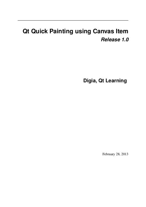 qt tutorial paint qt quick qml and canvas tutorial