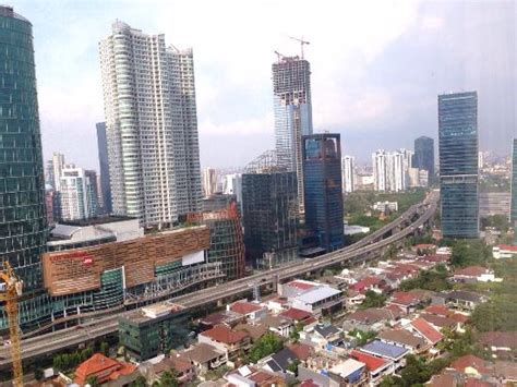 Jakarta City view of jakarta city from room picture of jw marriott