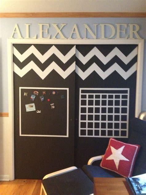 Magnetic Closet Doors Chalkboard And Magnet Paint Closet Doors Made For My Nephew Stuff I Did Make Pinterest Kid