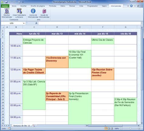 Calendario En Excel Creador De Calendario Para Word Y Excel