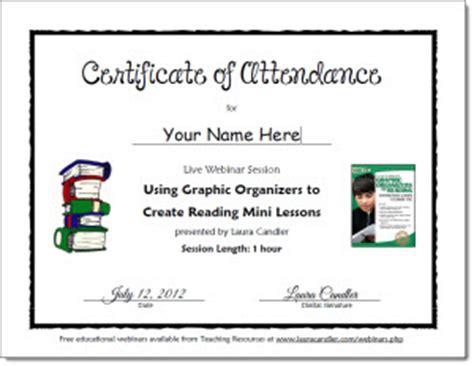 professional development certificate template professional development certificate of attendance