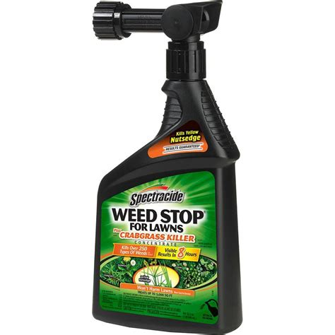 spectracide weed stop  oz ready  spray concentrate