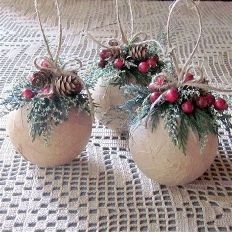 diy rustic christmas ornaments ideas moco choco