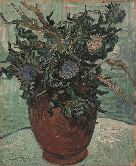 Gogh Vase With Flowers by Flowers In A Vase Gogh