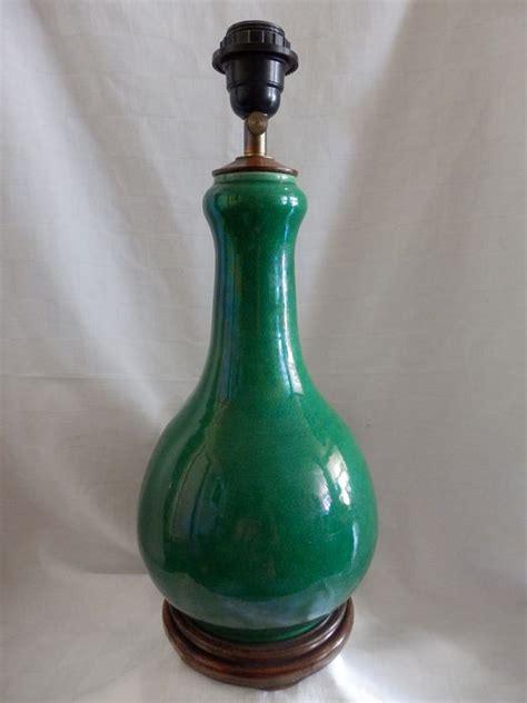 Crackle Glass Vase Table L by Vintage Porcelain Green Crackle Table L Vase China