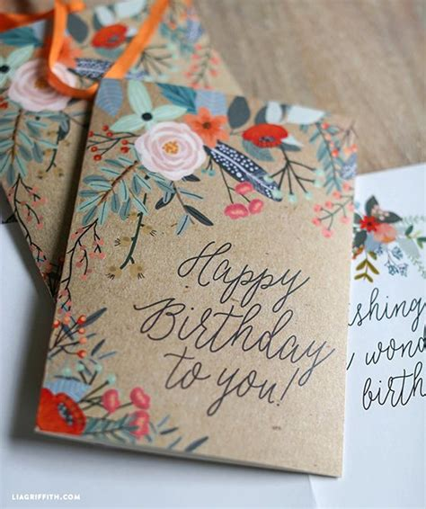 Free Handmade Card Ideas - greeting cards best 25 birthday cards ideas on