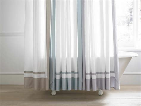 wamsutta shower curtain create the look and feel of a hotel worthy bathroom with