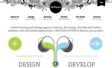 web header design maker clean ui trends for large website headers