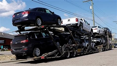 auto transport carrier sped  unload unload takes