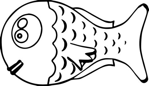 coloring pages big pictures big head cartoon fish coloring page sheet wecoloringpage