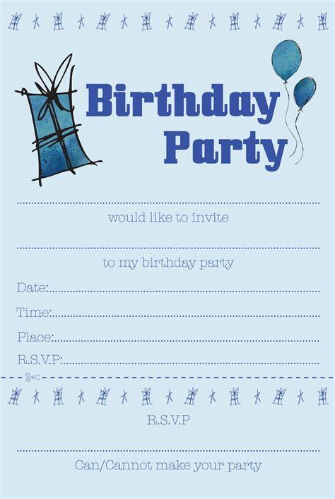 Boys Party Invitation Free Boy Birthday Invitation Templates