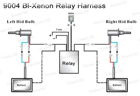 h13 hid relay harness wiring diagram get free image