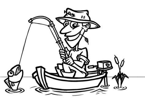 cartoon fisherman in boat cartoon fisherman in boat flickr photo sharing