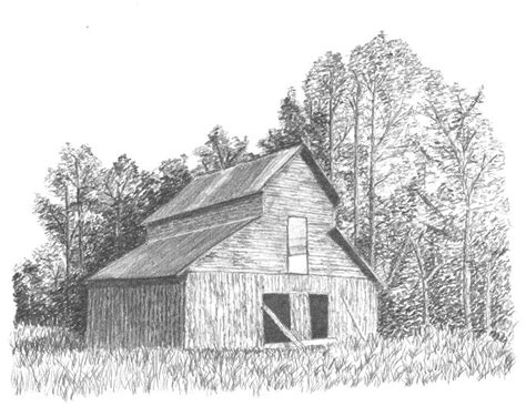 scheune zeichnung drawings of barns fabriano sketch pad a4 graphite