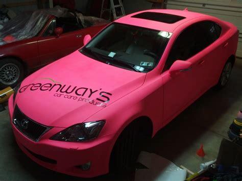 lexus pink fluorescent pink lexus is plasti dip my ride
