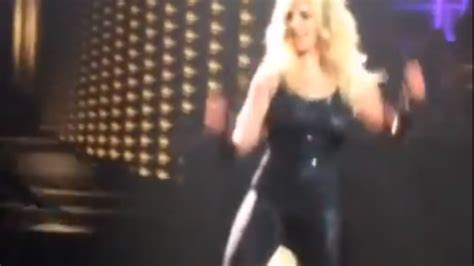 Britneys Falls Out by The Awkward Moment When Hair