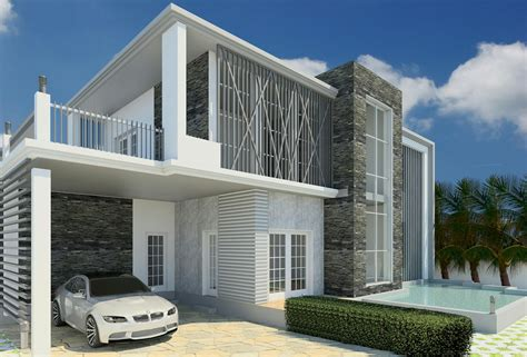 revit architecture modern house design 8 cad needs