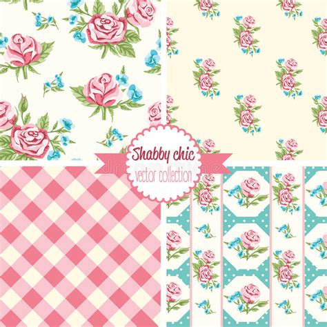 set of floral vector patterns royalty free stock images image 20201649 shabby chic patterns set seamless pattern vintage floral pattern backgrounds stock